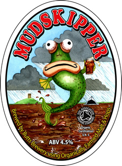 Mudskipper label